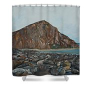 Morro Rock Shower Curtain