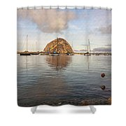 Morro Rocks Shower Curtain