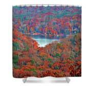 Morrow Mountain Overlook Shower Curtain