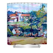 Mortemart 87 Shower Curtain