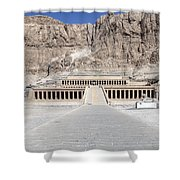 Mortuary Temple Of Hatshepsut - Egypt Shower Curtain