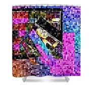 Mosaic #106 Shower Curtain