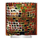 Mosaic 16 Shower Curtain