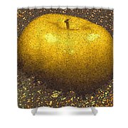 Mosaic Apple Shower Curtain
