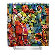 Mosaic Jazz Shower Curtain