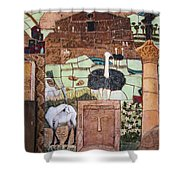 Mosaic Of The Holy Land Shower Curtain