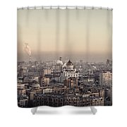 Moscow At Dusk Shower Curtain