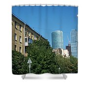 Moscow Business Centre Shower Curtain