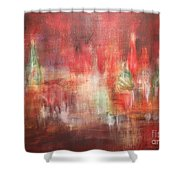 Abstract Moscow Shower Curtain