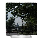 Moscow Shadows Shower Curtain