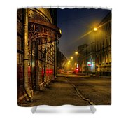 Moscow Steampunk Shower Curtain by Alexey Kljatov
