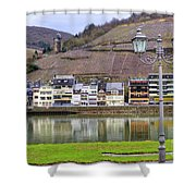 German Wine Country Shower Curtain