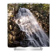 Mosher Hill Falls II Shower Curtain