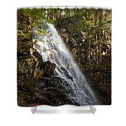 Mosher Hill Falls Shower Curtain