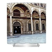 Mosque Of Muhammad Ali Entrance Shower Curtain