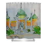 Mosque Shower Curtain