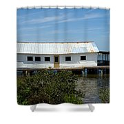 Mosquito Lagoon Florida Shower Curtain