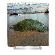 Mossy Rock Shower Curtain