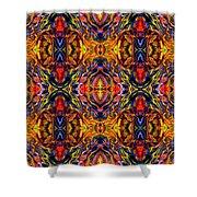 Mostique Tile Shower Curtain