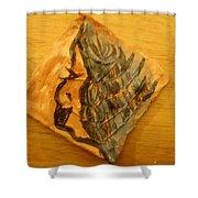 Mother - Tile Shower Curtain