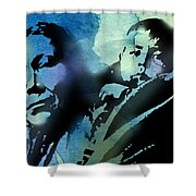 Mother And Child Shower Curtain