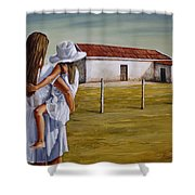 Mother And Daughter Iv Shower Curtain