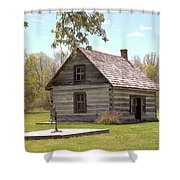 Mother Barnes House Shower Curtain