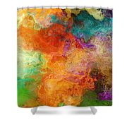 Mother Earth - Abstract Art Shower Curtain