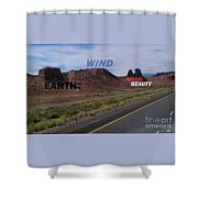 Mother Earth Shower Curtain