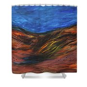 Mother Earth, Father Sky Shower Curtain