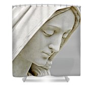 Mother Mary Comes To Me... Shower Curtain by Greg Fortier