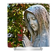 Mother Mary Shower Curtain