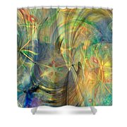 Mother Of Angels Shower Curtain