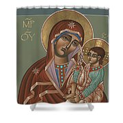 Mother Of God Of Shuya 178 Shower Curtain