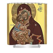 Mother Of God Virgin Of The Don 187 Shower Curtain