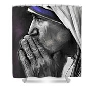 Mother Teresa Of Calcutta Shower Curtain