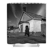 Mother Theresa Of Calcutta Parish In Dzalal-abad, Kyrgyzstan Shower Curtain