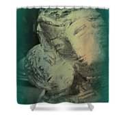 Mother With Infant Shower Curtain