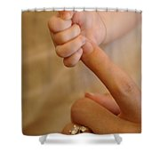 Motherhood Shower Curtain