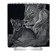 Mothers Arms Shower Curtain