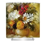 Mother's Bouquet I Shower Curtain