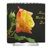 Mothers Day Card 4 Shower Curtain