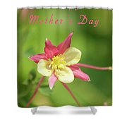 Mothers Day Card 5 Shower Curtain