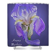 Mothers Day Card 7 Shower Curtain