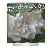 Mother's Day Gardenia Shower Curtain