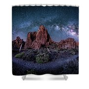 Mothers Eye Shower Curtain