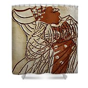 Mothers Glow - Tile Shower Curtain