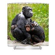 Mothers Hug Shower Curtain