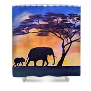 Mothers Love Shower Curtain