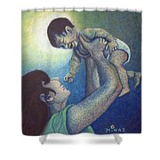 Mother's Play Shower Curtain